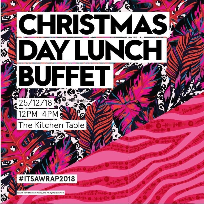 Christmas Day Lunch Buffet at The Kitchen Table