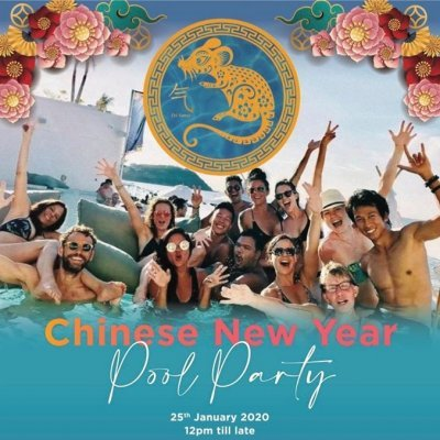 Chinese New Year Pool Party!