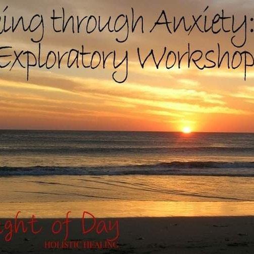 Walking through Anxiety: An Exploratory Workshop