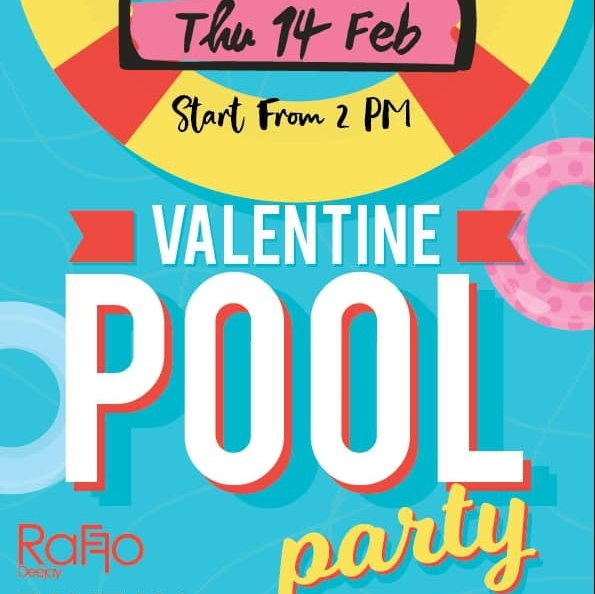 Valentine Pool Party @ ARKbar beach club