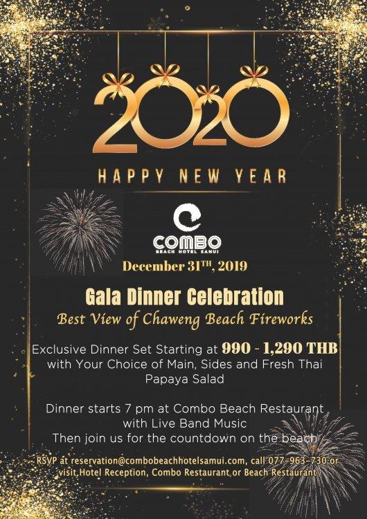 Combo Gala Dinner - December 31, 2019