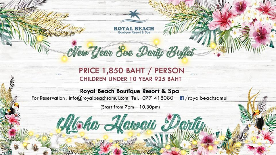 "New Year Eve Party - ""Aloha Hawaii"""