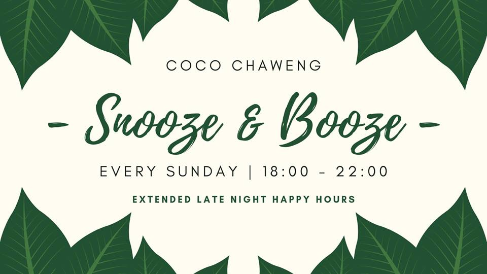 Snooze & Booze // Sunday's // COCO Chaweng