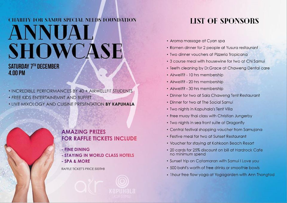 Annual Showcase Charity event