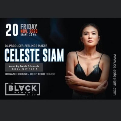 Celeste Siam Back at The Black Bamboo