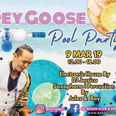 Grey Goose Pool Party