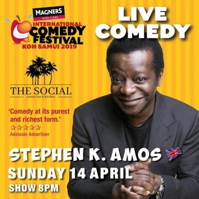 Songkran Weekend Live Comedy with Steven K Amos