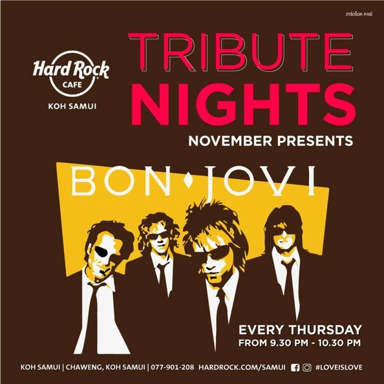 Tribute night to Bon Jovi