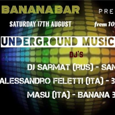 Underground Music Lovers Party