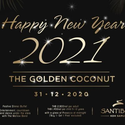 "The New Year's Eve ""Golden Coconut"""