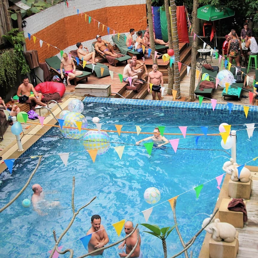Chinese New Year Pool Party