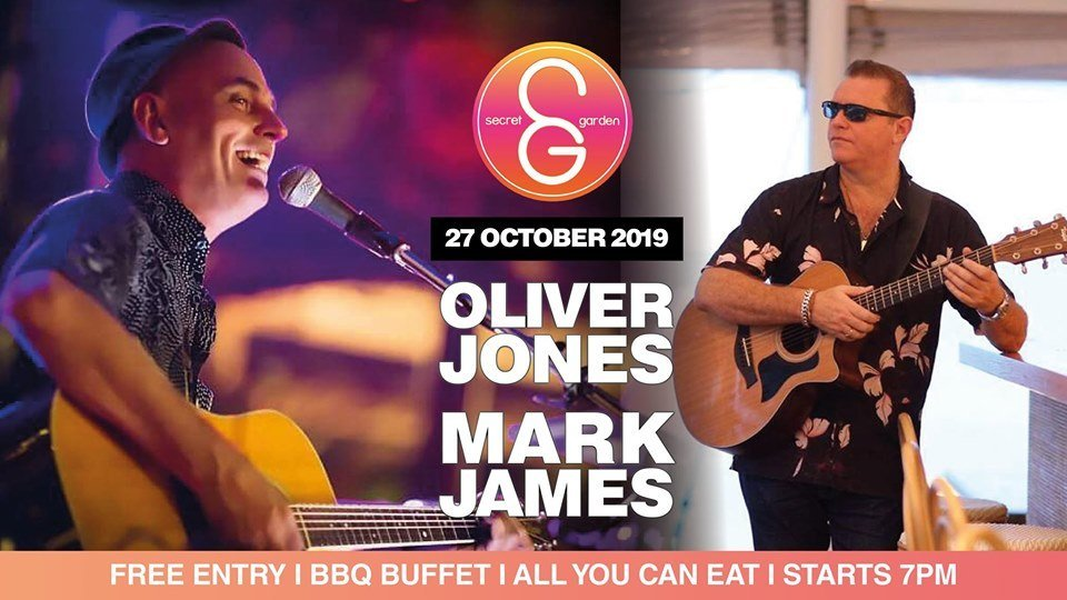 SG Sunday Sessions presents Oliver Jones & Mark James