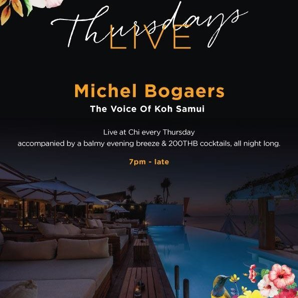 Thursdays Live with Michel Bogaers
