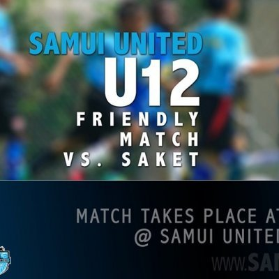 U12s friendly match [will be played at the new pitch]