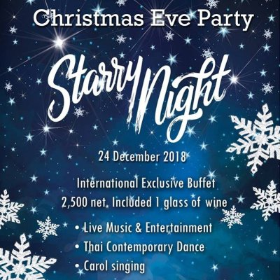 Starry Night Christmas Party
