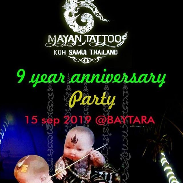 Mayan Tattoo 9 Year Anniversary Party