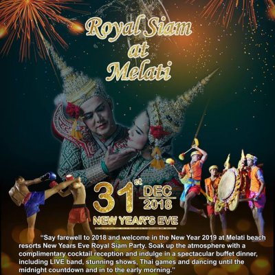 New Years Eve Royal Siam at Melati