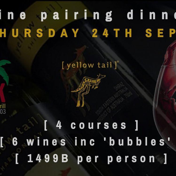 The Shack - 4 Course [yellowtail] Wine Pairing Dinner