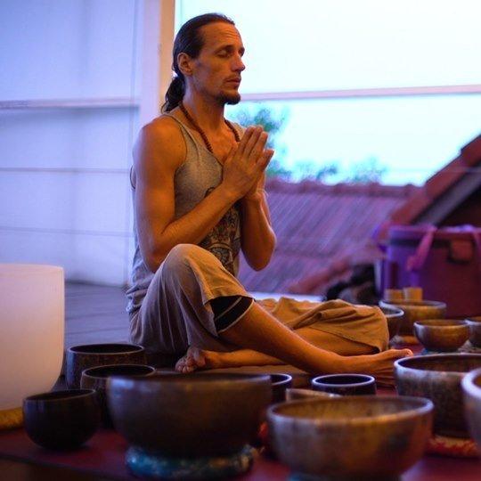 Sound Gong Puja at Vikasa