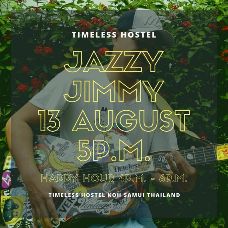 Jazzy Jimmy - Timeless Hostel Live Music Sessions