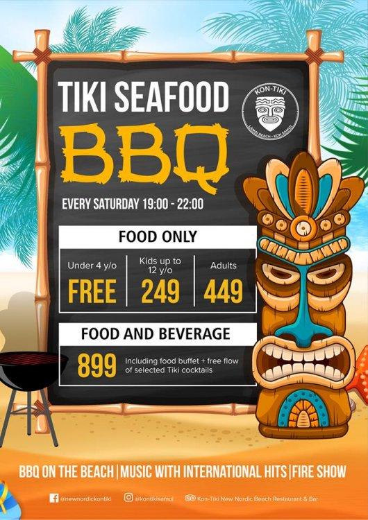 TIKI Seafood BBQ