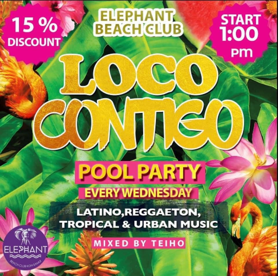 "POOL PARTY ""LOCO CONTIGO"""