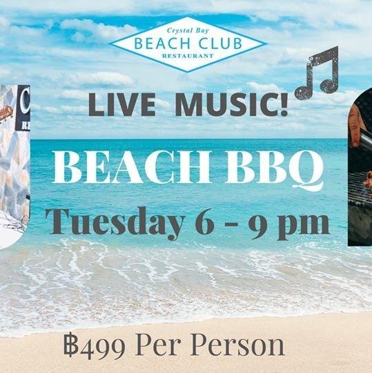 Beach BBQ - Live Music