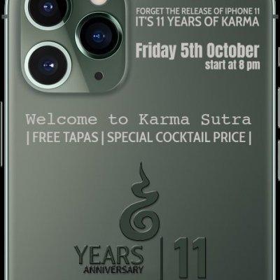 11 years anniversary of Karma Sutra