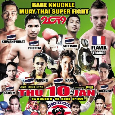 Muay Thai & Bareknuckle Fighting Koh Samui