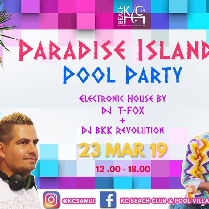 Paradise Island Pool Party