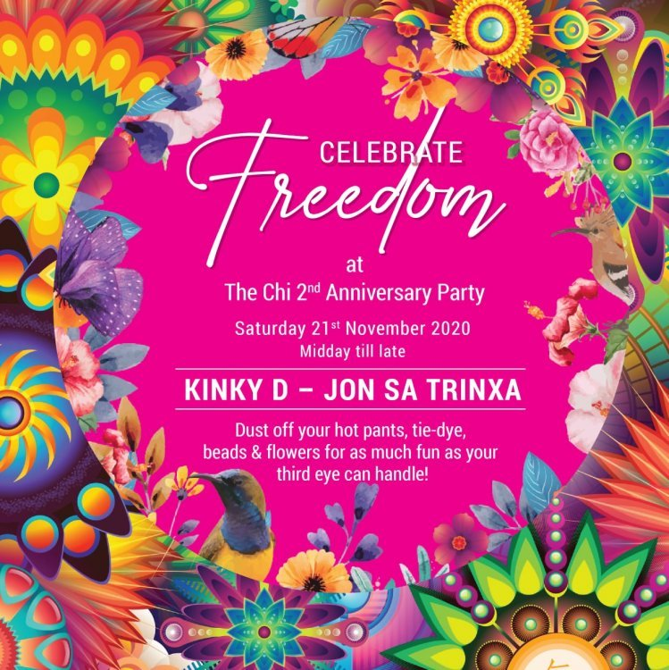 CELEBRATE FREEDOM 2nd Anniversary Party!