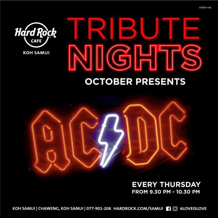 Tribute Night to AC/DC