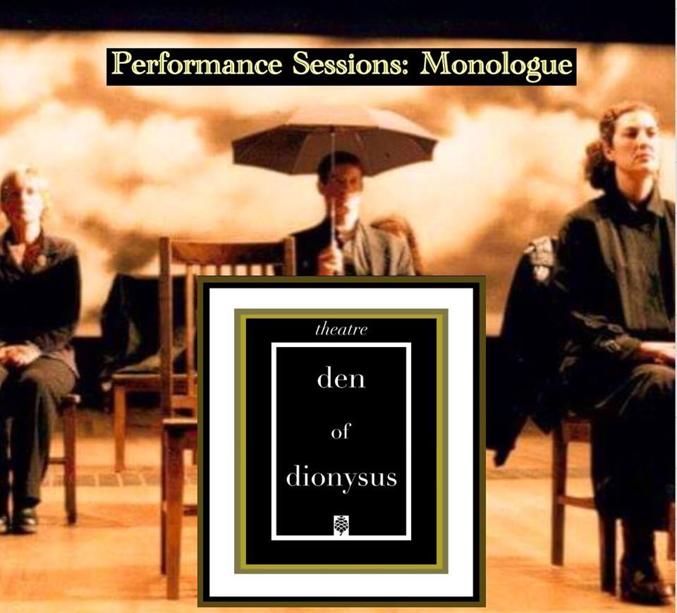 Theatre Workshops - Performance Sesssions: Monologue