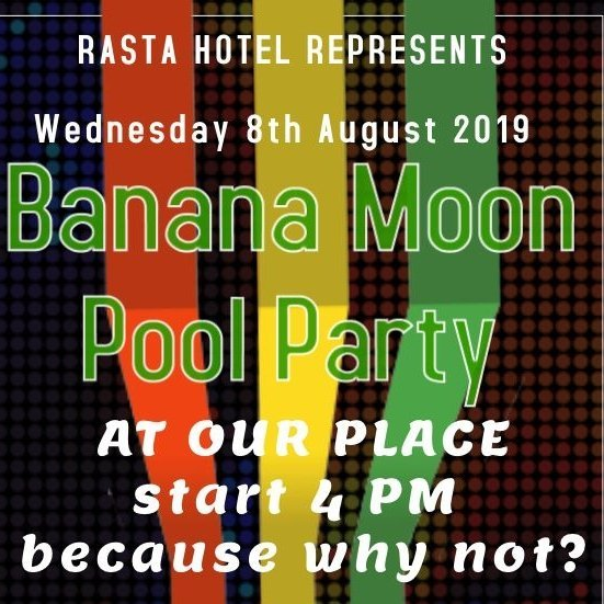 Banana Moon Pool Party!