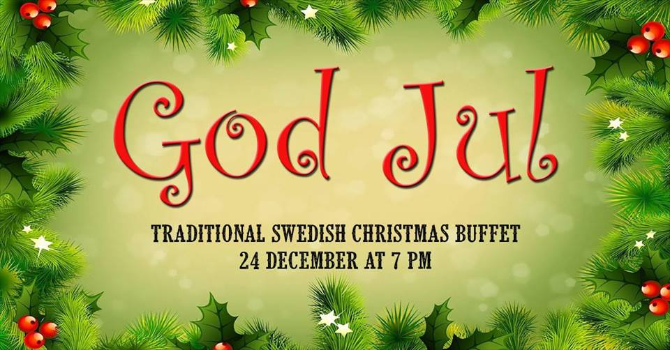 Traditional Swedish Christmas Buffet