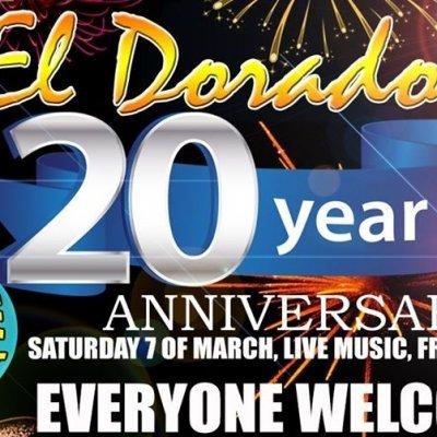 El Dorado´s 20 Year Anniversary