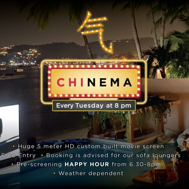 CHInema - Chi's Outdoor Cinema