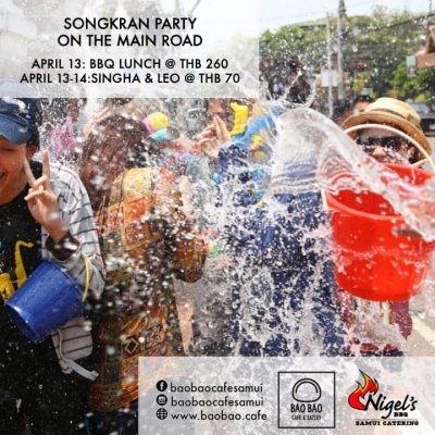 Awesome Songkran BBQ & beers