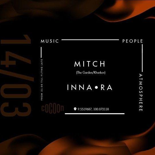14/03 MITCH / INNA RA at Cocoon Samui