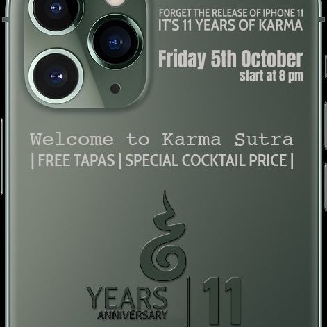 11 years anniversary of Karma Sutra