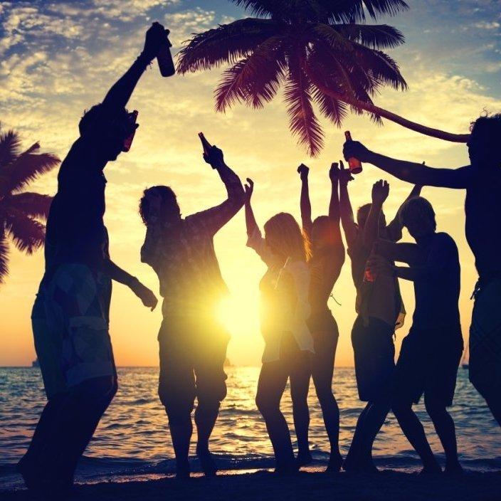 Tropics Blue Party