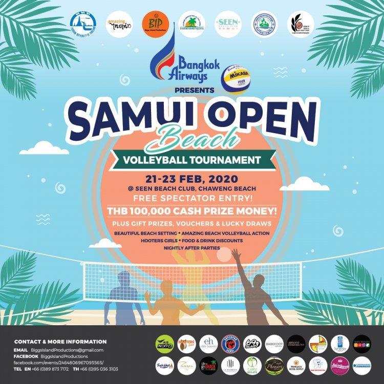 Samui Open Beach Volleyball Tournament