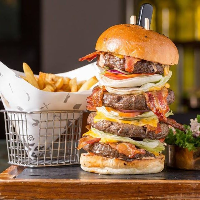Stacked Burger Challenge