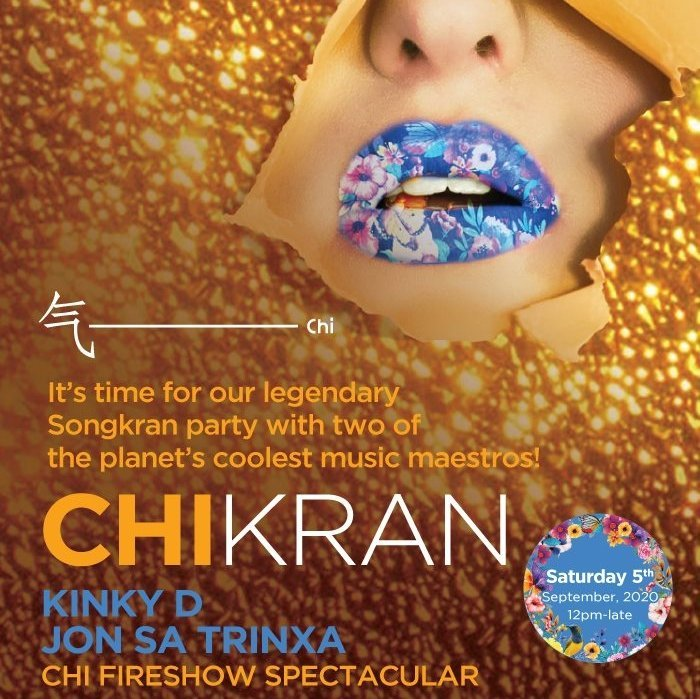 CHIkran - the hottest Songkran Party in Samui