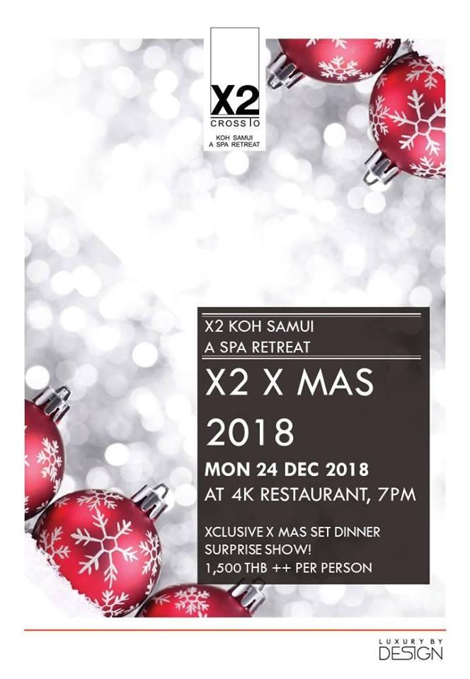 X2 X MAS 2018