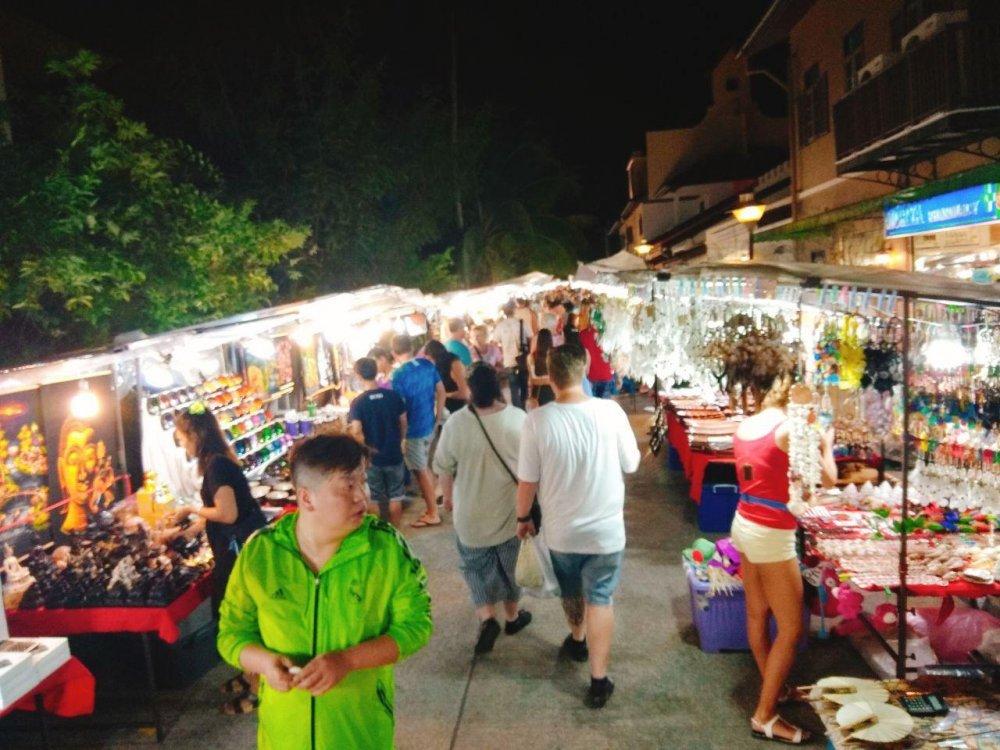 Night Market on Bophut (The Wharf)