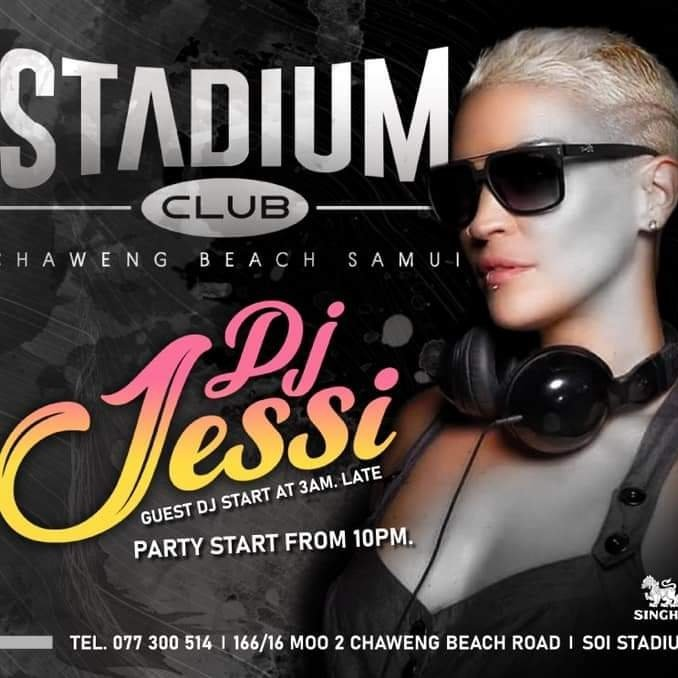 Jessi at Stadium Club