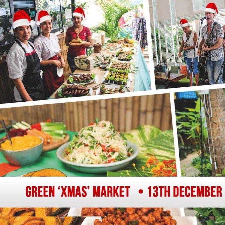 Green XMAS Market Samui • 13th December 2020 • ตลาดสีเขียว