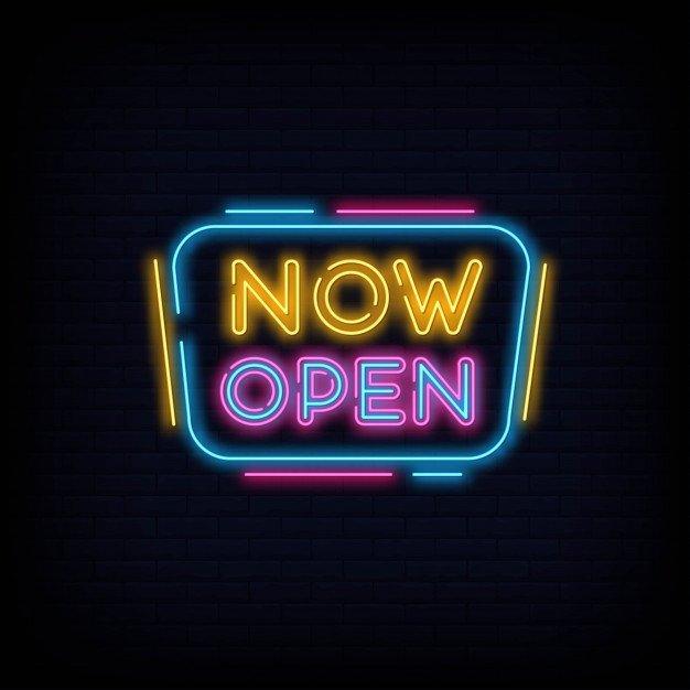 Open every Weekend