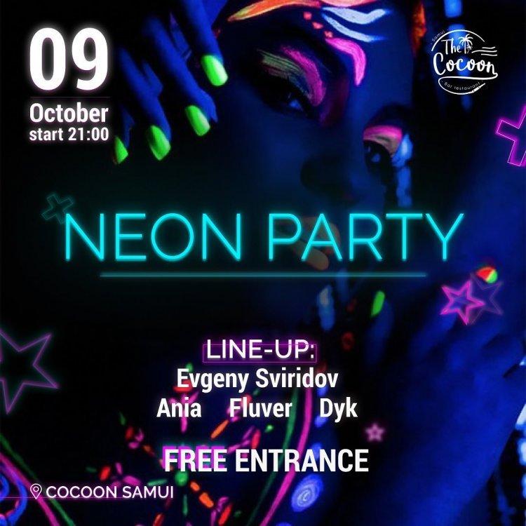 Neon Night Evgeny Sviridov Ania Fluver Dyk